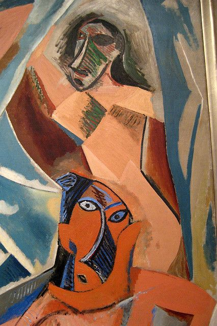 Nyc Moma Pablo Picasso S Les Demoiseels D Avignon Pablo Picasso Art Picasso Art Picasso Paintings