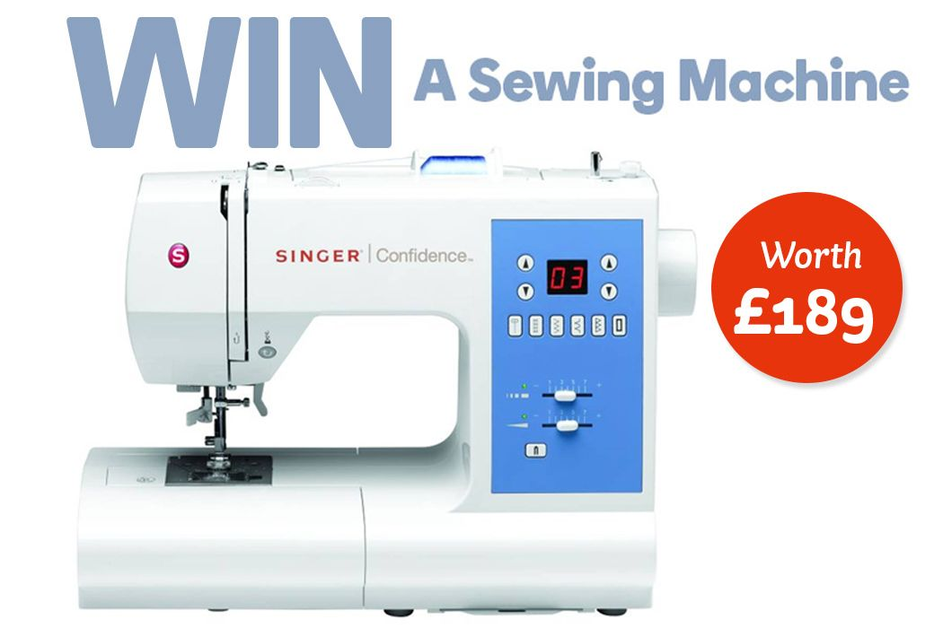 To celebrate the launch of our half price sewing event in stores and online, we've giving you the chance to win a Singer sewing machine worth £189!