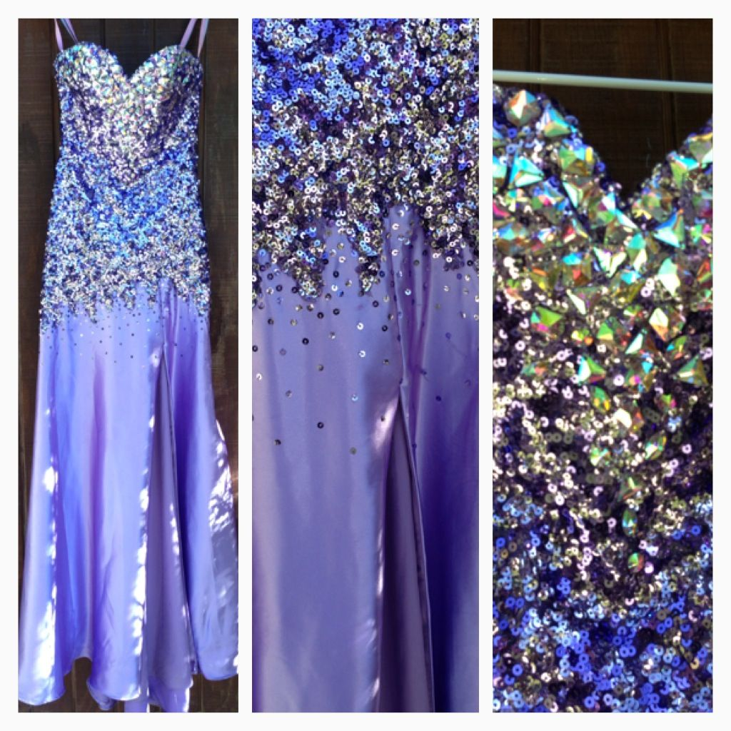 Size purple bling pageant gown formal homecoming sweethearts or