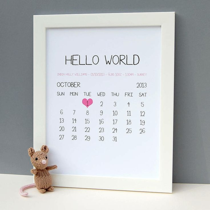 Personalised baby birth date print baby birth personalised baby personalised baby birth date print negle Gallery