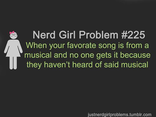 I hate this! You'd think with the current popularity of Glee, more people would know what I'm talking about!