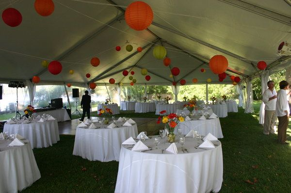 Lanterns Coordination Outdoor weddings Md weddings Tent decorations & Photo via | Wedding tent decorations Tent decorations and Weddings
