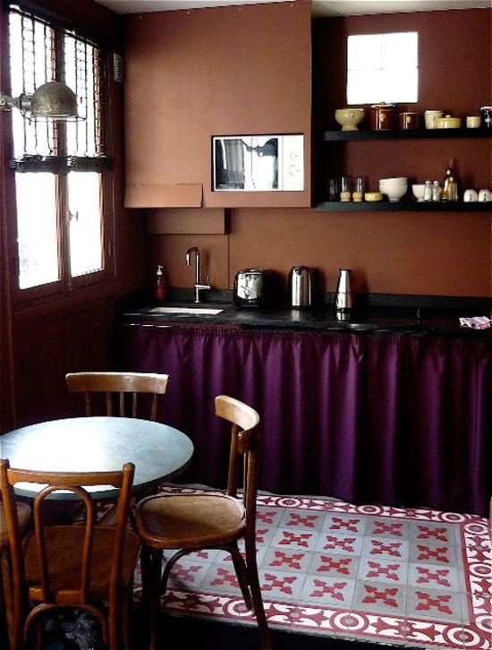 Desire To Inspire Desiretoinspire Marianne Evennou Bat Cave Kitchen Dining Paris Apartment Decor Interior Colors