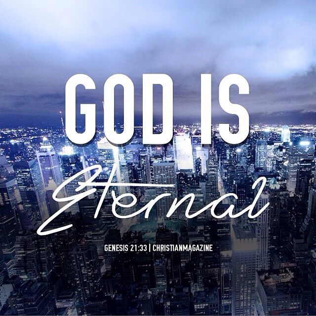 the word eternal means everlasting having no beginning and no