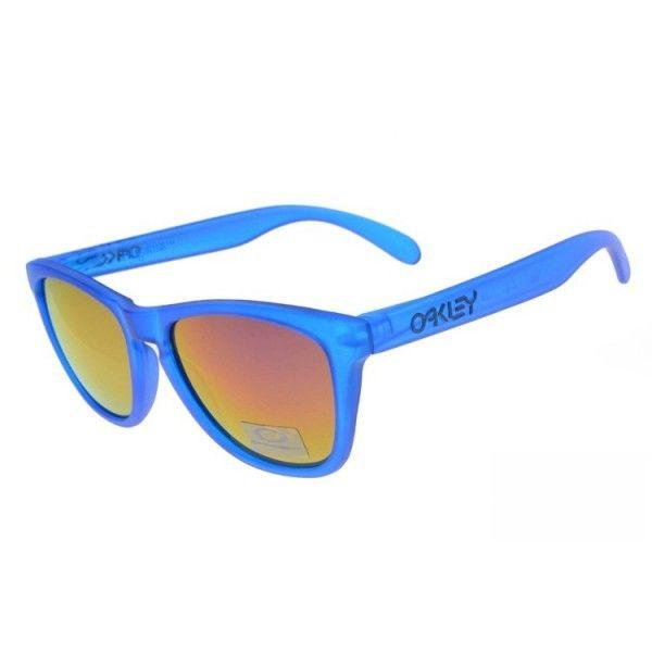 7033c29815 Oakley Frogskins sunglasses blue   fire iridium