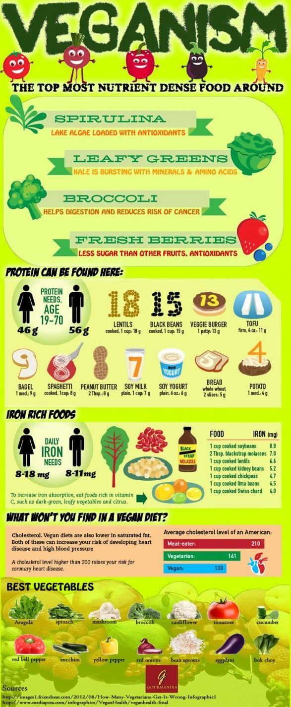 Vegan Infographic Vegan foods, Vegan protein sources, Vegan