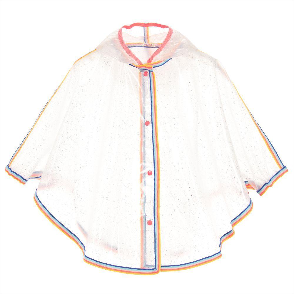 cf4072860eb7 Girls hooded transparent raincoat cape from Billieblush