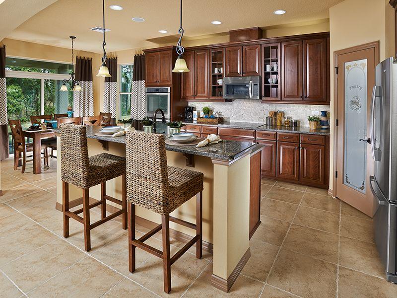 Kerrville Plan At Brooks Cove Orlando Fl Kitchens