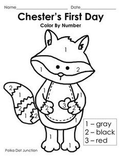 l the kissing hand freebie - The Kissing Hand Coloring Pages