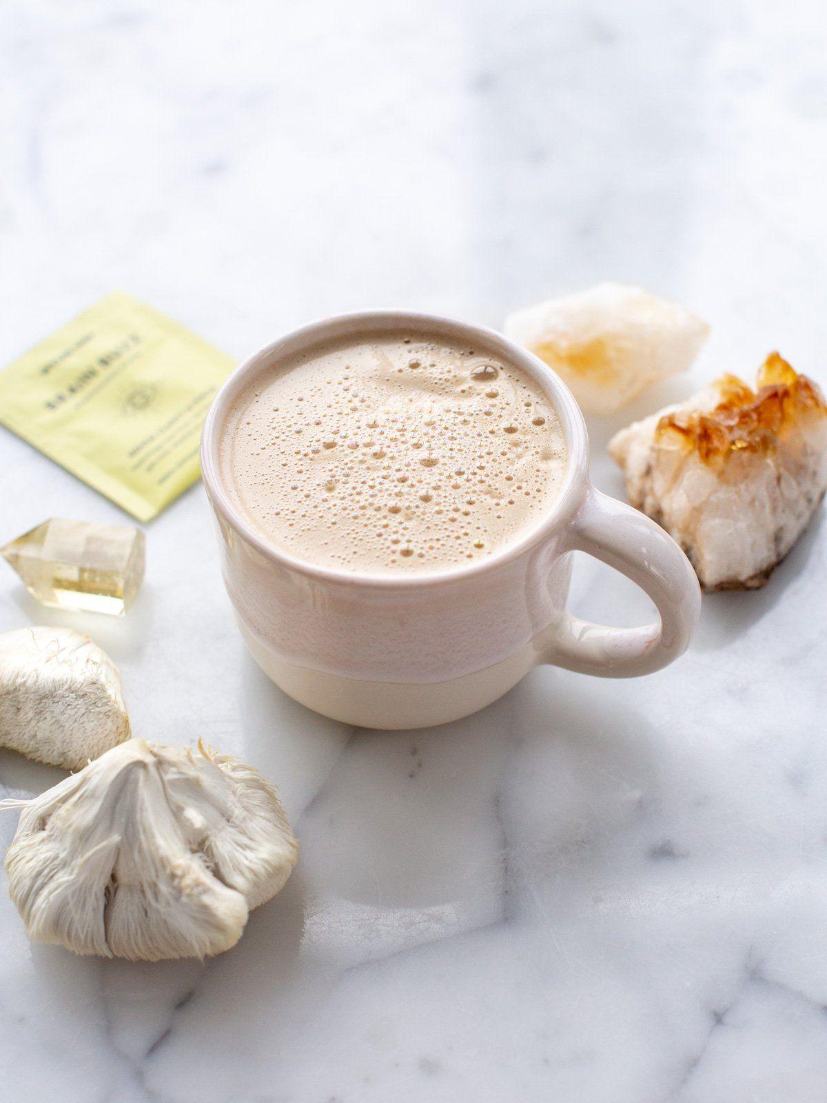 Brainiac lions mane latte lions mane mushroom recipe