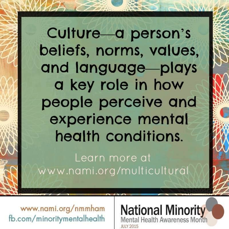 Pin on National Minority Mental Health Awareness Month