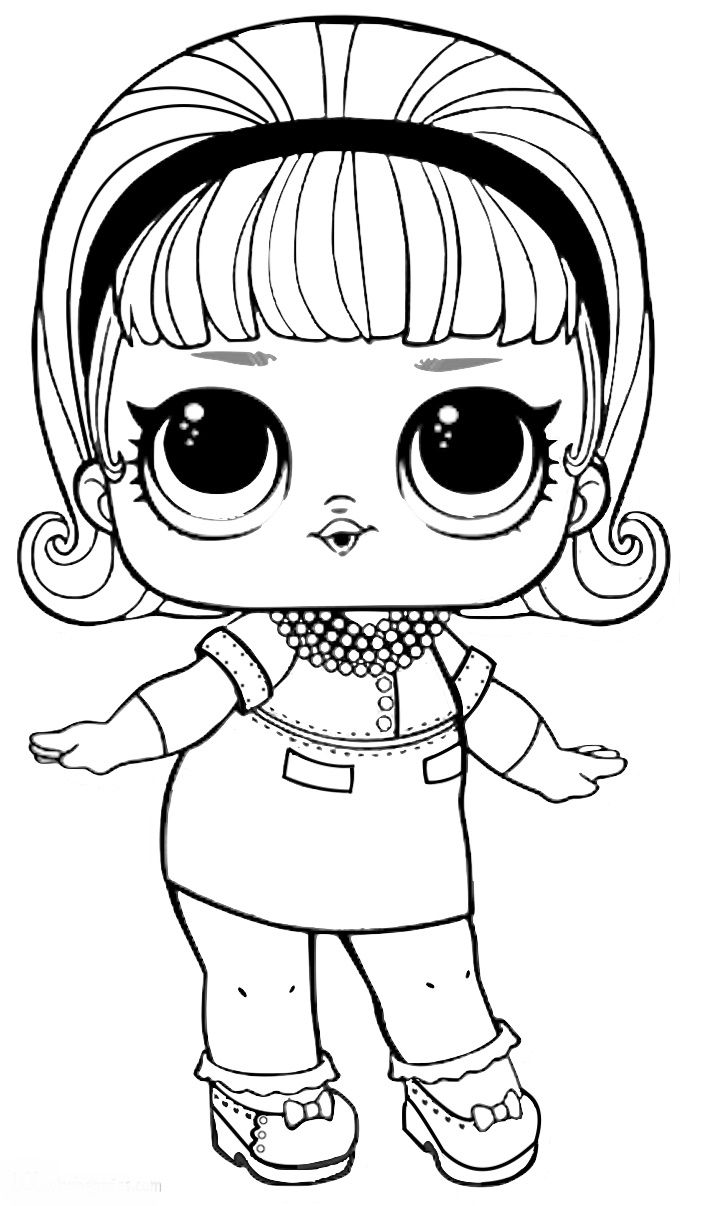 Para a colhy pintar  lol surprise  Lol dolls Doodle