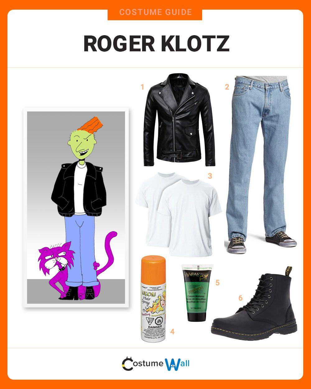 Roger Klotz Costume