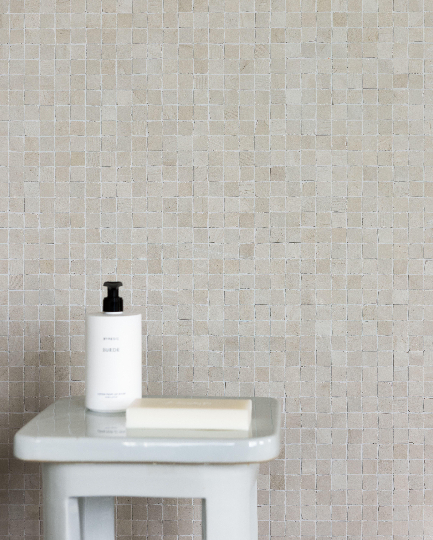 concrete tiny chalk bathroom details piet boon tiles