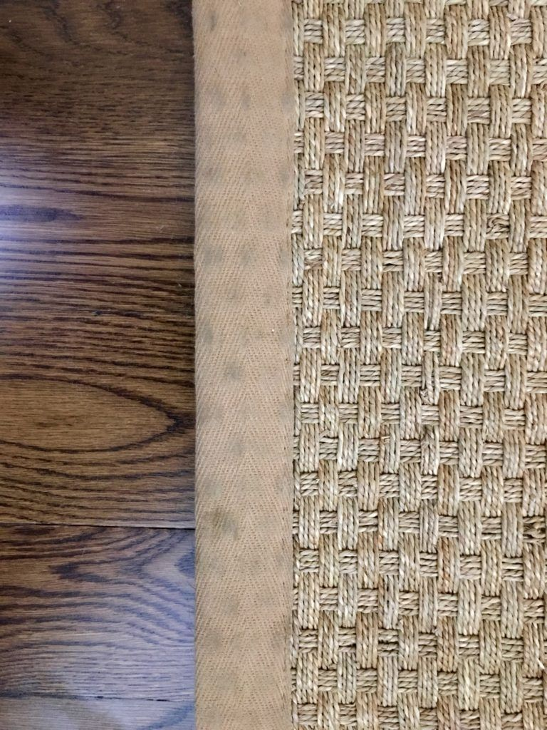 Follow These Easy Steps To Clean The Soiled Border Of A Seagrass Rug