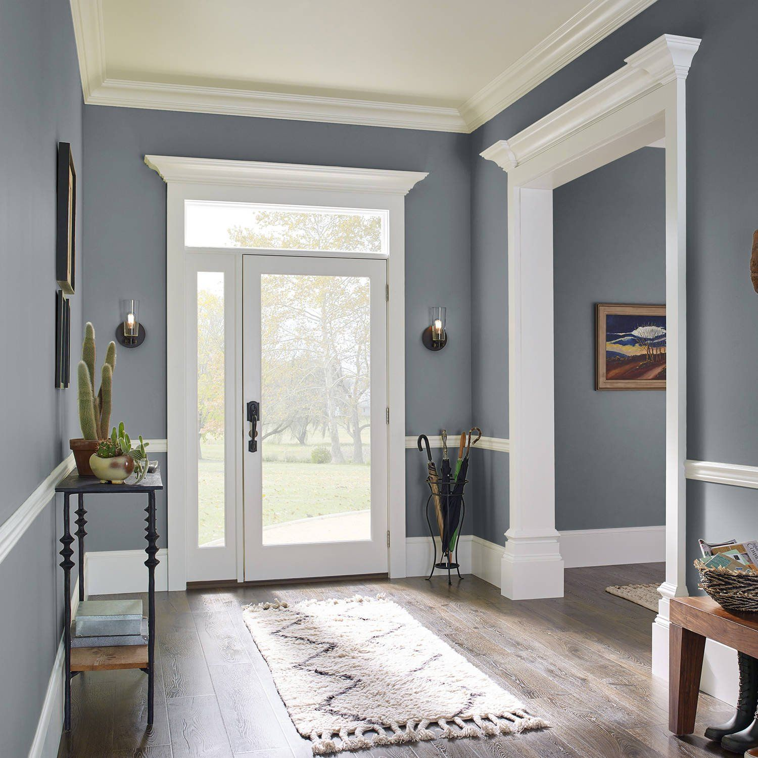 Murky Depths Kilz Complete Coat Interior Exterior Paint Primer In One Rm140 Walmart Com In 2021 Paint Colors For Home Paint Colors For Living Room Room Paint Colors