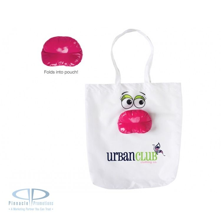 Lipz convertible tote custom imprinted with logo