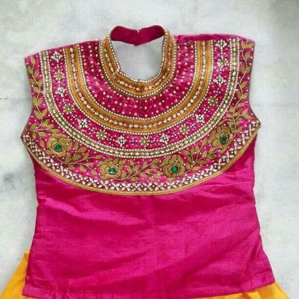 Pattu Pavadai Kids Blouse Designs Kids Designer Dresses Kids Dress Patterns