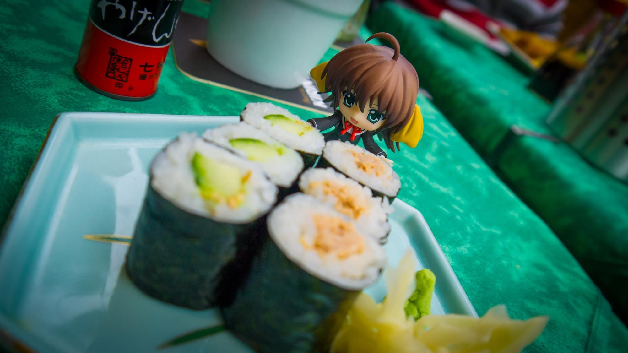 Nendoroid Sushi in Dusseldorf \(^O^)/
