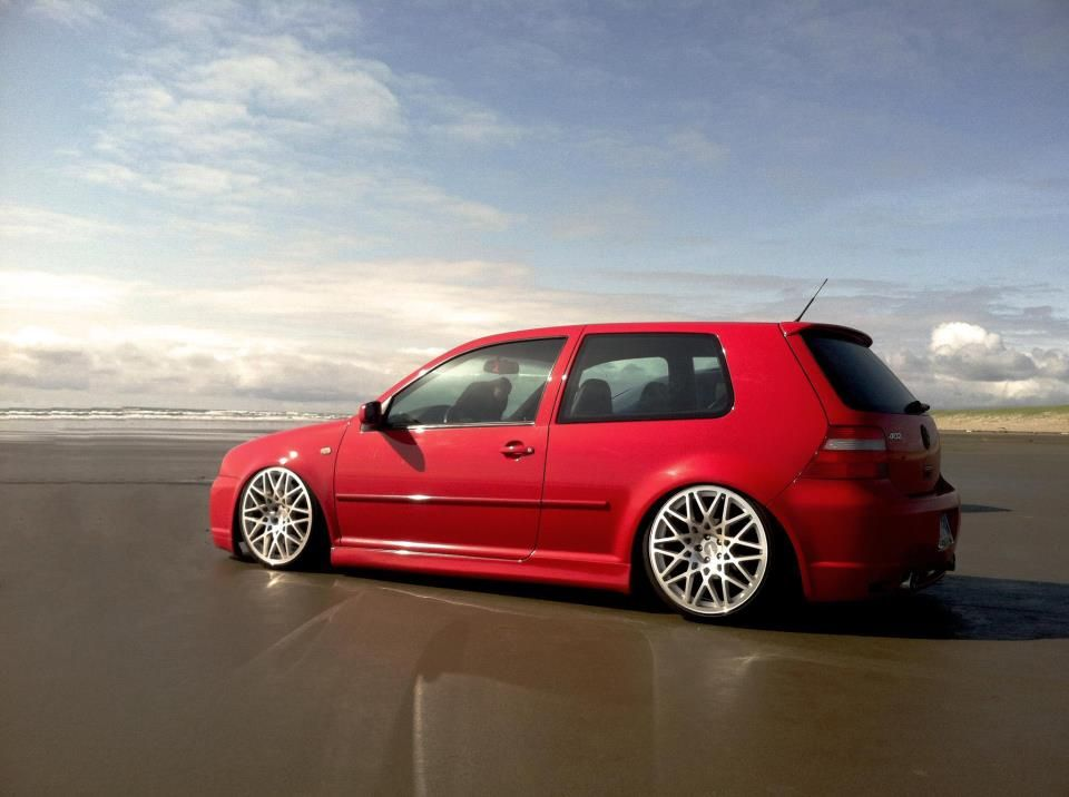 Vw In Rotiform Wheels Vw Tuning Mag Vw Golf