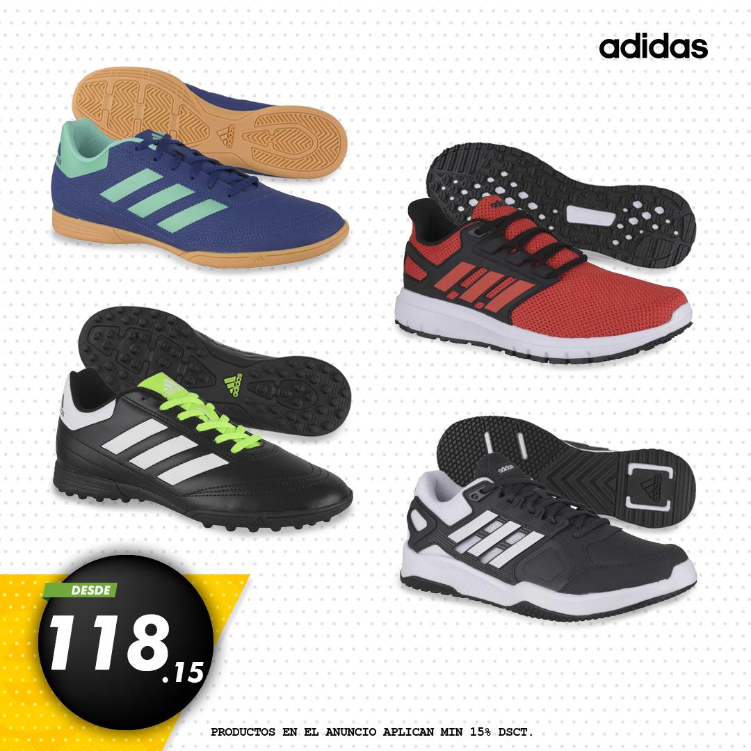 the latest f4b7b 6fa9d Zapatillas adidas Hombre a precios increibles en Platanitos.