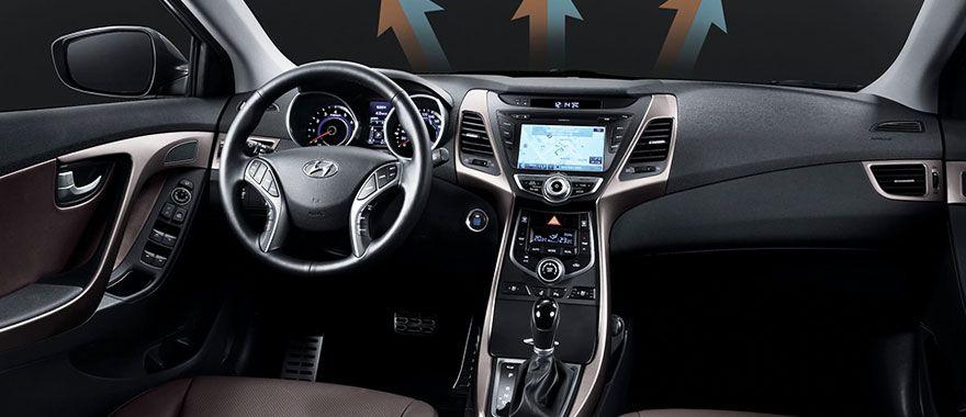 2014 Hyundai Elantra Interior Maxabout