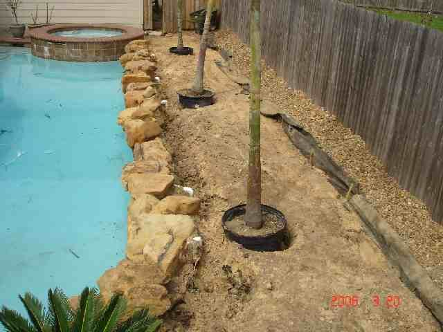 Pool Landscape Ideas pool deck combines tropical style with a hint of mediterranean charm design ibi designs Pools And Landscaping Ideas Pictures