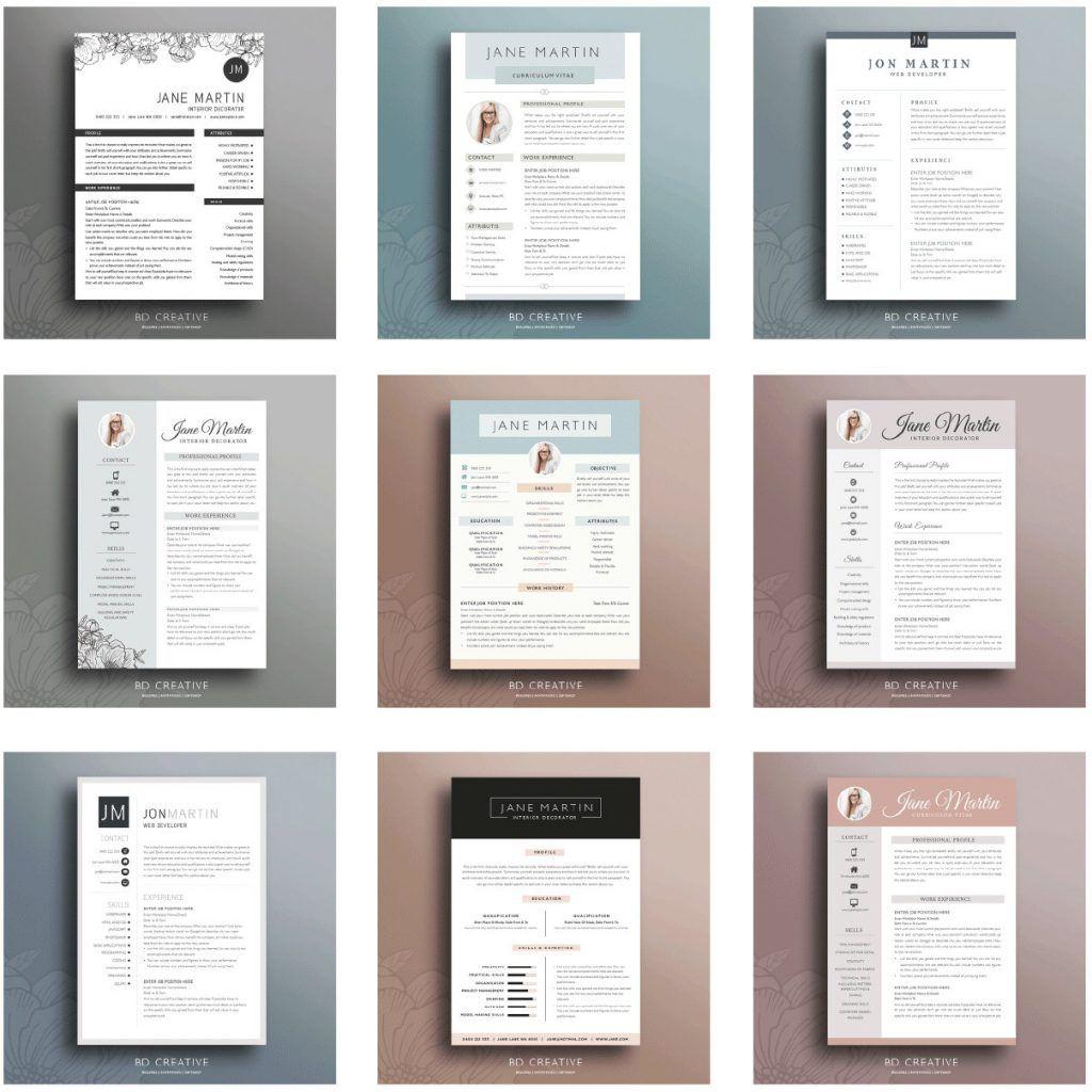 Bd Creative Il Fullxfull 1021114684 Ctg8 Resume Templates Good Resume Examples Resume Examples