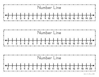 image relating to Printable Number Lines to 20 called Selection Line Assignments in the direction of Attempt Kindergarten math, Math