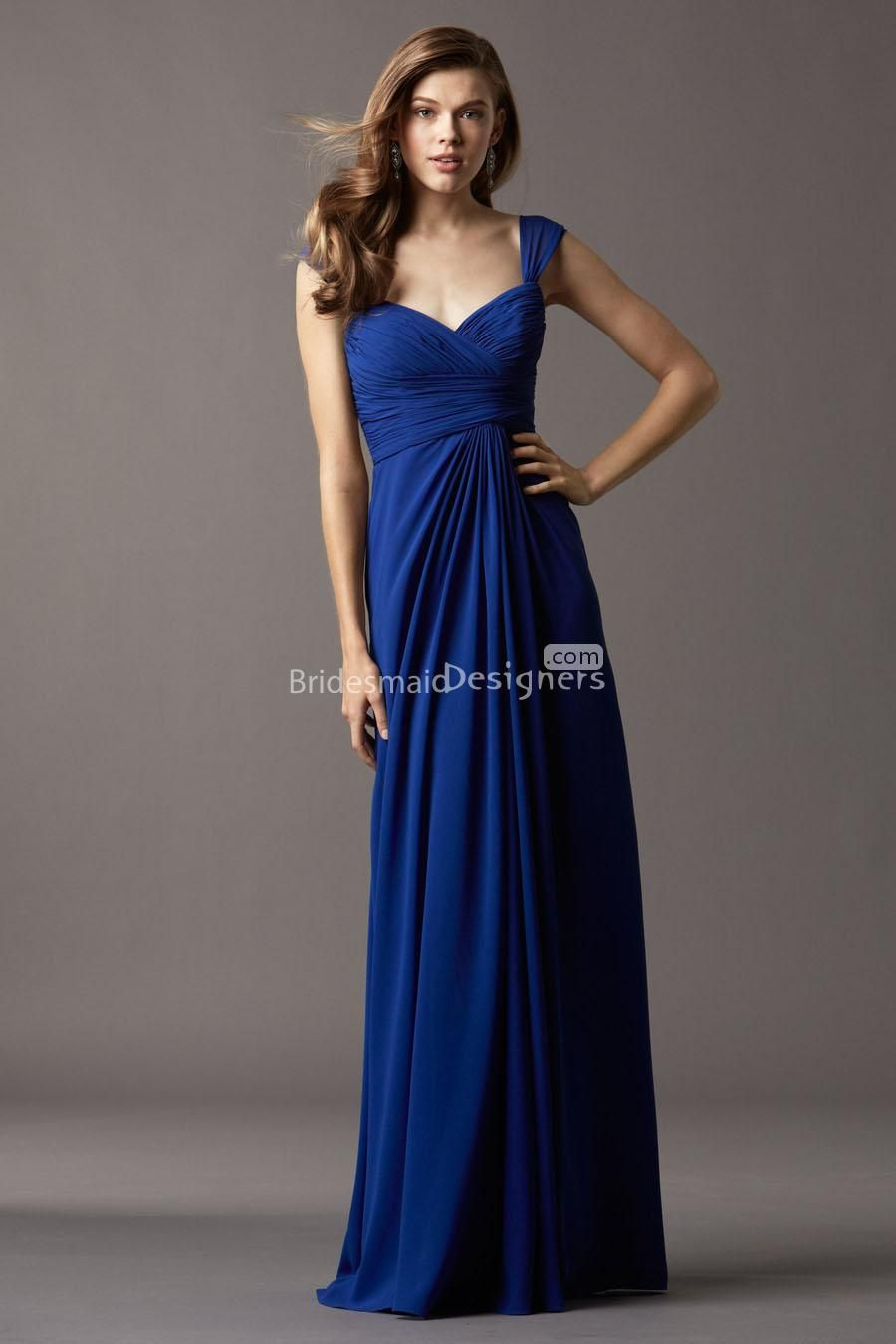 Most brides will choose both chiffon wedding dresses and chiffon
