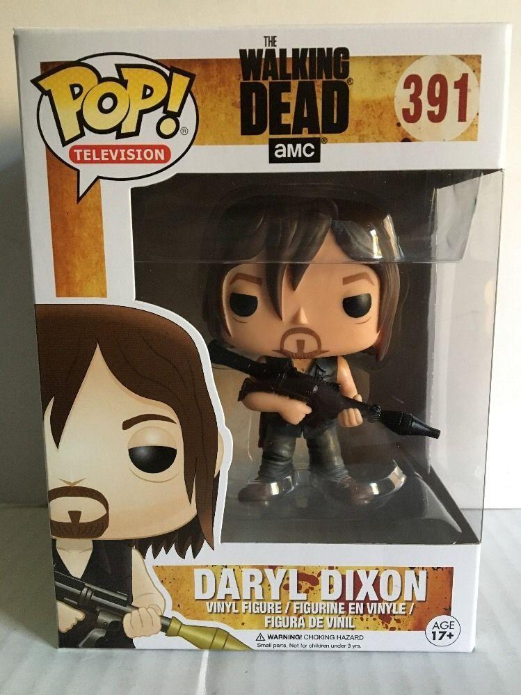 The Walking Dead Daryl Dixon with Rocket Launcher Pop Funko Vinyl Figure n° 391