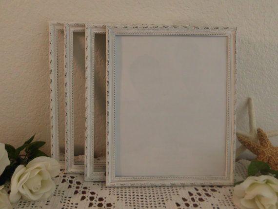 Ornate White Frame Rustic Distressed 8 x 10 Shabby Chic Wedding ...