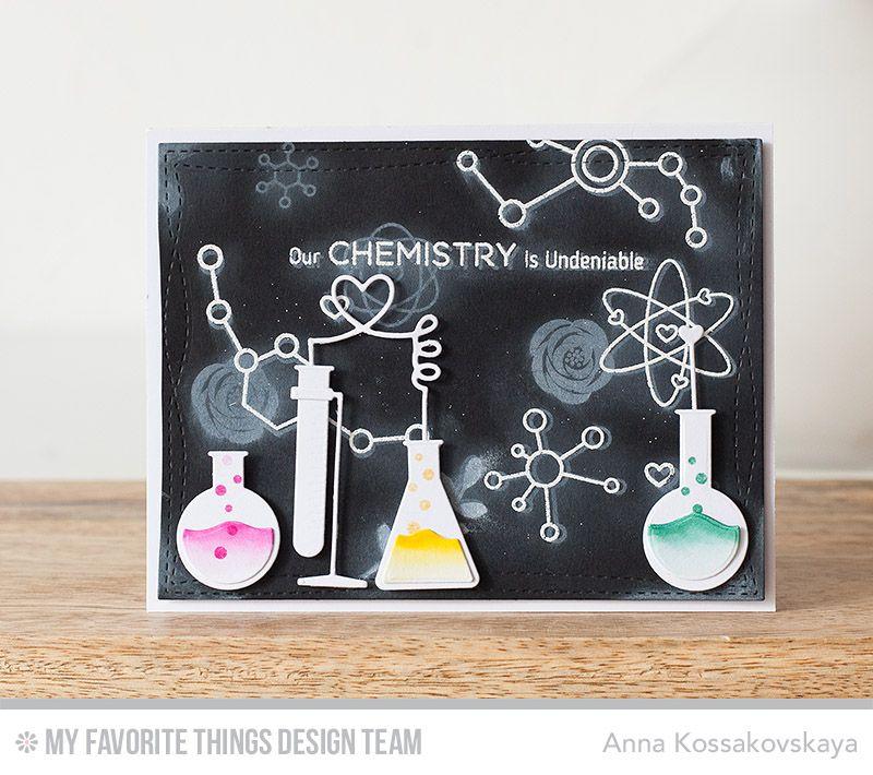 Открытка по химии своими руками
