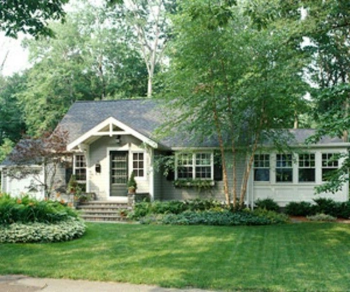Ranch Home Facade Makeover House Ideas Pinterest House With Porch House Exterior Chesapeake House