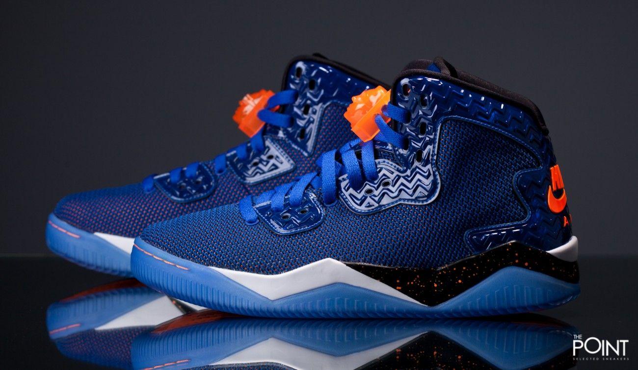 zapatillas jordan azules