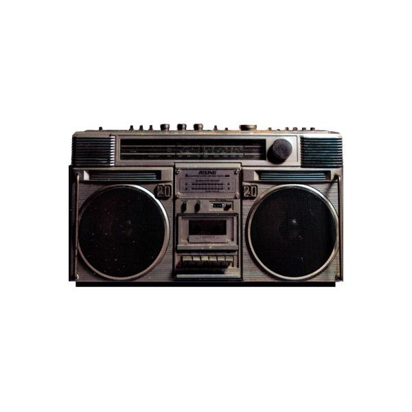 Psd Detail 80 S Boombox Official Psds Liked On Polyvore Featuring Fillers Music Electronics Other Accessories Phrase Aesthetic Objects Png Boombox