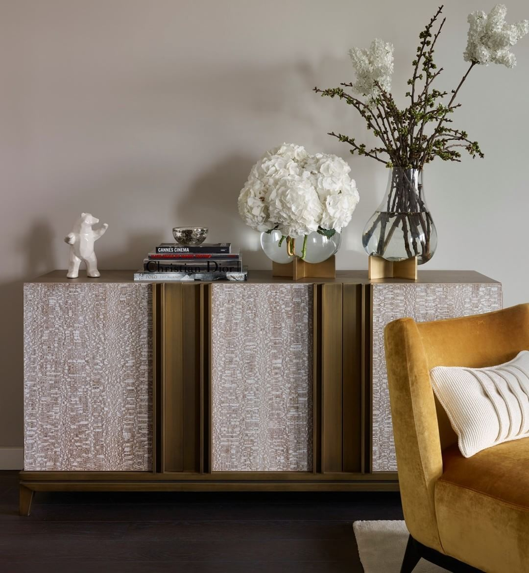 Fbc London Byethorne Credenza An In Situ Shot Of Our Byethorne Credenza Taken From A Stunning Penthouse Apartme Furniture Sideboard Designs Luxury Sideboard