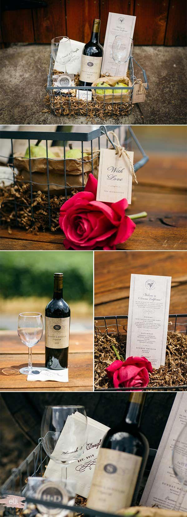 DIY Wedding Welcome Basket | Gifts | Pinterest | DIY wedding ...