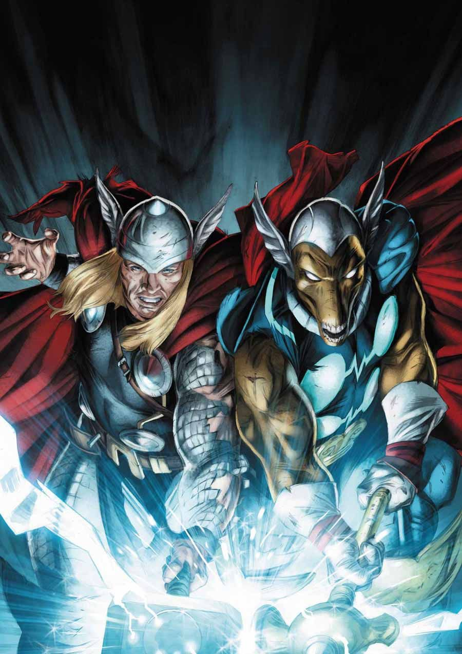 Image result for thor and beta ray bill
