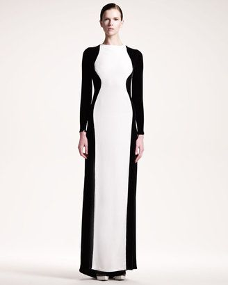 db710aa02d6 ShopStyle  Stella McCartneyColorblock Stretch Gown
