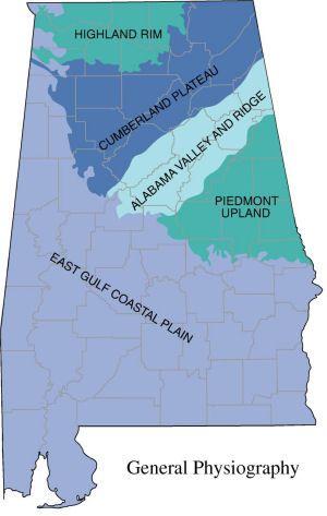 Alabama Land Regions Teaching Alabama Teaching History