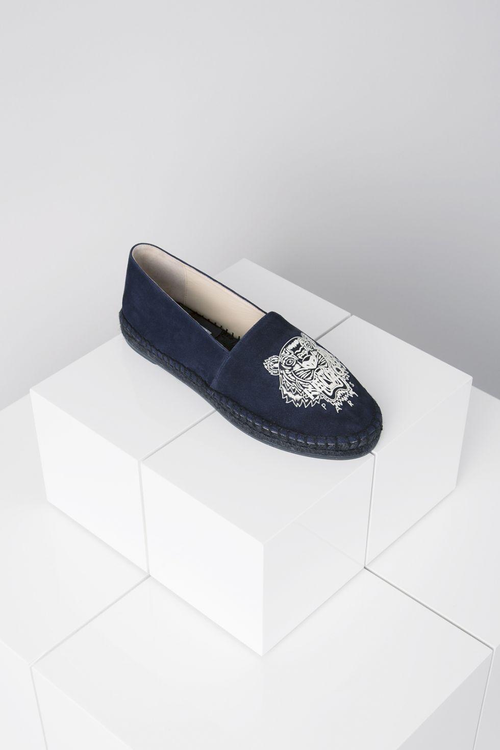 Espadrilles Tigre en Daim Kenzo - Chaussures Kenzo Femme - E-Shop Kenzo f2fde865467