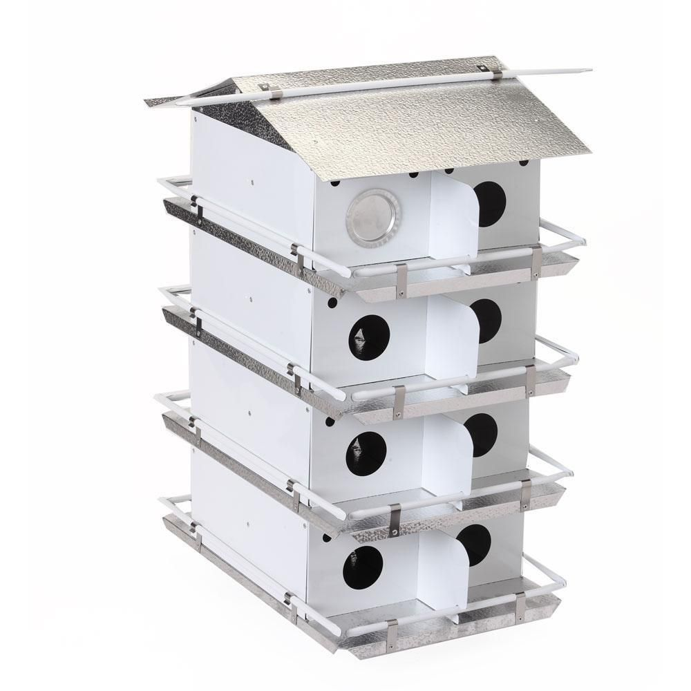 Birds Choice Coates Purple Martin House 4 Floor 16 Room Pre Assembled Ships Within 7 to 10 Business Days