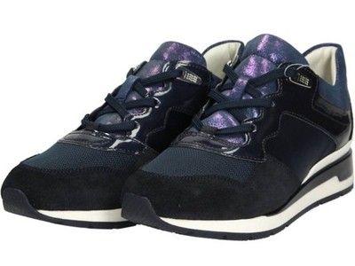 Damskie Buty Sportowe Granatowe Geox D44n1a 02211 Air Jordan Sneaker Shoes Air Jordans