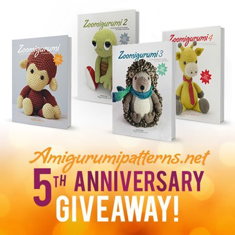 Amigurumipatterns.net exists 5 YEARS today! Yay! To celebrate our birthday we're running an amazing giveaway for our biggest fans. Go to link in profile to enter.  #amigurumi #amigurumis #amigurumilove #crochet #crochetersofinstagram