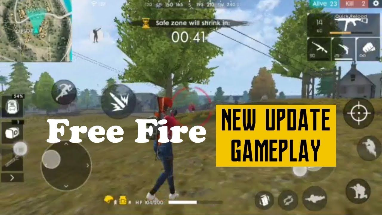 Garena Free Fire New Update Android Ios Gameplay Game Codes Gameplay News Update