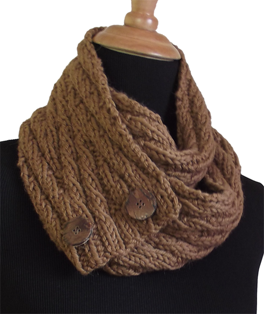 Free Pattern: Un-Button Scarves by Pamela Young | Knitting ...