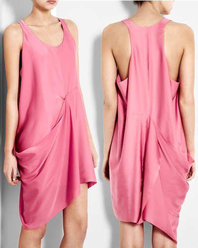 Closet Dress Back Drape Racer Pink Acne Backs Dream q7vwgYA