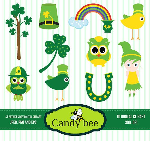 St Patrick S Day Clipart St Patty Day Digital Clipart For Scrapbooking Invitations Saj 218buy1 Get 1 Free Buy Digital Clip Art Clip Art Saint Patricks Day Art