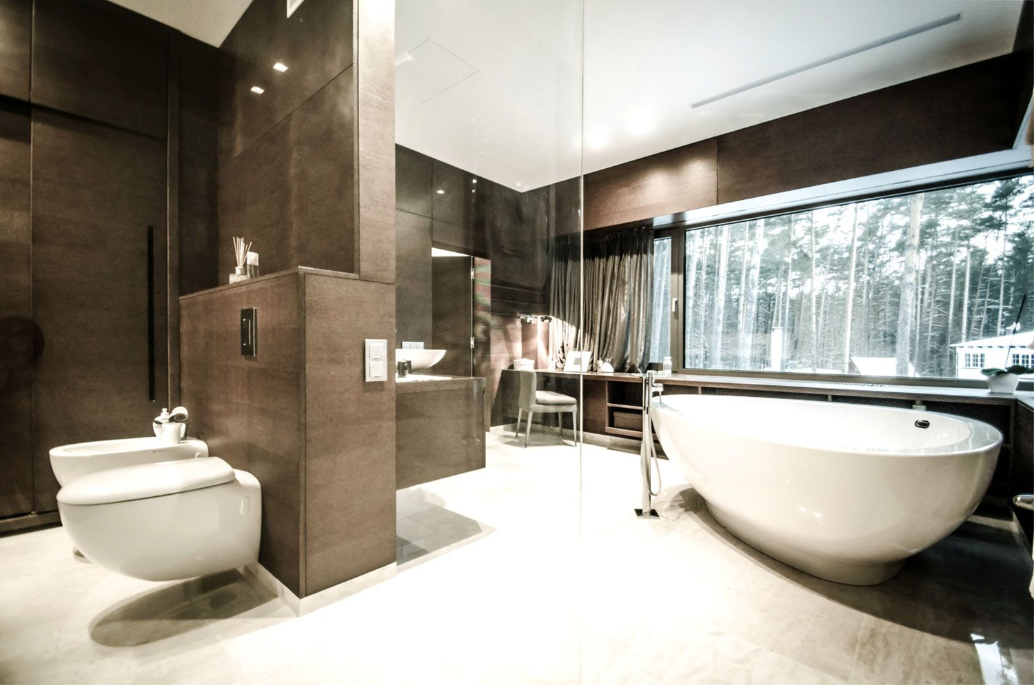 Rectangle Parallelepiped House By Devyni Architektai 14 Bedroom With Bath Bathroom Renovations Dream Bathrooms